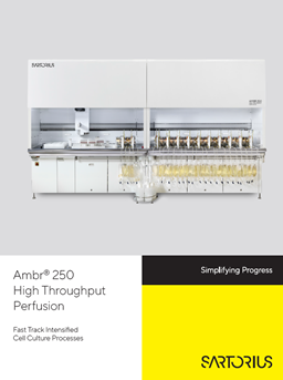 Ambr® 250 High Throughput Perfusion: Fast Track Intensified Cell Culture Processes - Sartorius Croatia