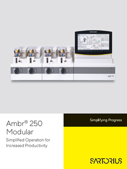 Ambr® 250 Modular: Simplified Operation for Increased Productivity - Sartorius Croatia