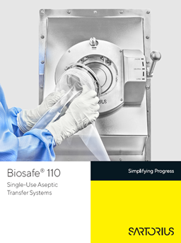 Biosafe® 110: Single-Use Aseptic Transfer Systems - Sartorius Croatia