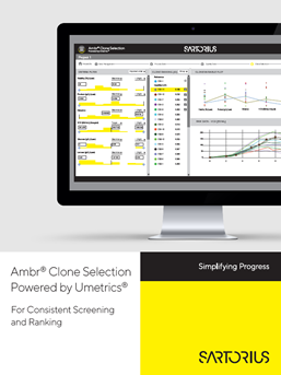 Ambr® Clone Selection Powered by Umetrics® - Sartorius Croatia
