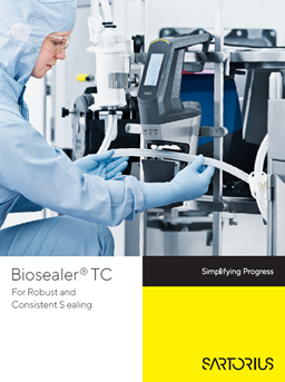 Biosealer® TC: For Robust and Consistent Sealing - Sartorius Croatia